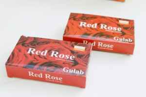 Darshan Red Rose kegeltjes